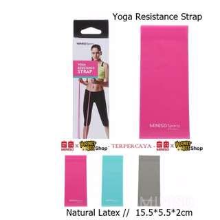 Japan Quality - Alat Olahraga Pria Wanita Yoga Resistance Strap Miniso