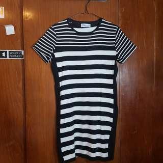 ZARA Stripe Tube Dress