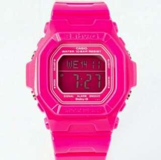 Baby-g 桃紅色手錶