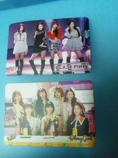 Blackpink yescard &oh my girl yescard&JBJ yescard