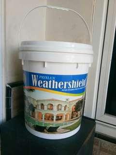 Cat perekat dekorasi ruangan prinlux weathershield isi 25kg