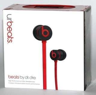 包郵100%全新正品original URBeats 耳機