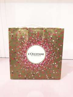 Paper bag / shopping bag L'occitane Limited Edition
