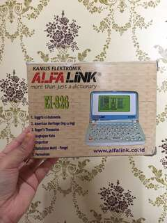 Alfalink original kamus inggris