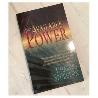 Your Available Power by Charles Spurgeon Christian Book