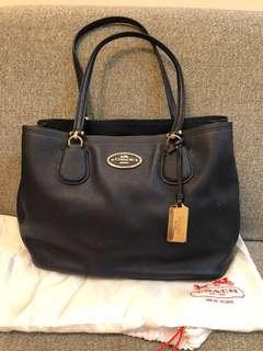 Coach bag navy colour