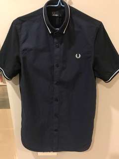 Fred Perry short sleeve shirt (S)