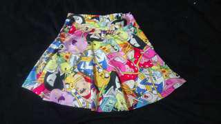 Adventure Time Skater Skirt