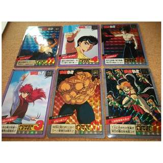 yuyu hakusho power level part 1 prism set