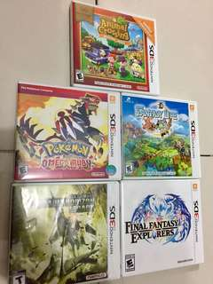 FOR SALE OLD 3DS GAMES‼️