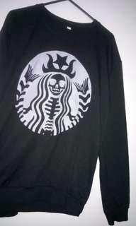 Starbucks Skeleton Jumper