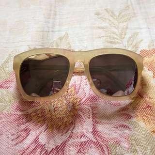 Rieti Korean brand reflective sunglasses