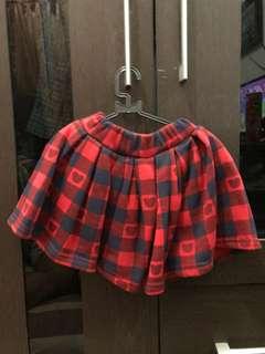 Short skirt anak usia 1-2th