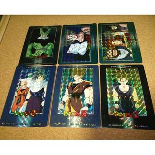 dragonball amada pp card part 21 prism set