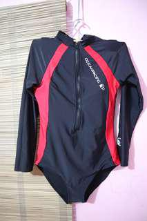 Rash guard one piece