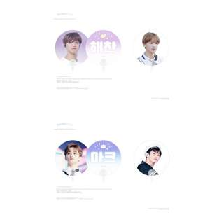 HAECHAN & MARK - LITTLESTAR SUMMER CHEERING FAN KIT