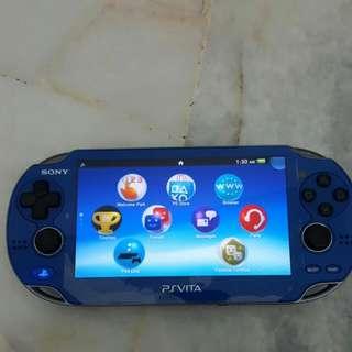 ps vita 1k limited blue console psvita psv