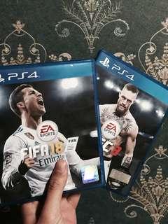 FIFA18 + UFC3 (Combo)