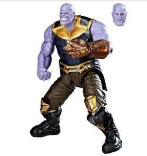 預訂 八月到貨 漫威電影十周年 魁隆 㓕霸 全新拆售 跟多一個表情頭雕 Marvel Legends Thanos Action Figure