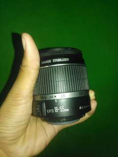 Lensa canon 18 - 55 mm