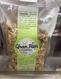 Muesli Cinnamon Gran Fam (250 gram)