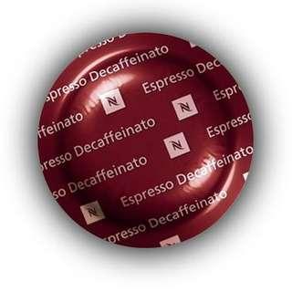 Nespresso Espresso Decaffeinato Coffee Pods