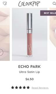 Echo Park - Colourpop Ultra Satin Lip