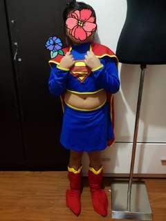 Preloved Supergirl Costume Large (5 - 6)