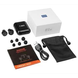 新發表 X3T 智能 全觸控 藍牙耳機 一對二 入耳式 藍芽耳機 聽音樂 智能休眠 安卓 iPhone X