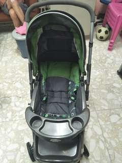 嬰幼兒多功能推車