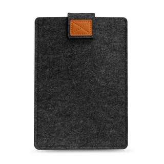 🚚 Dark Grey Felt Laptop Sleeve 13 inches