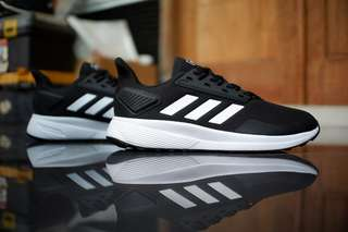 Adidas duramo 9 black white original
