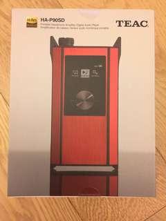 (全新 Brand New) TEAC HA-P90SD 紅色 水貨