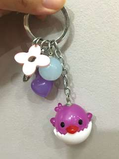 🚚 chick dangly multiple keychain