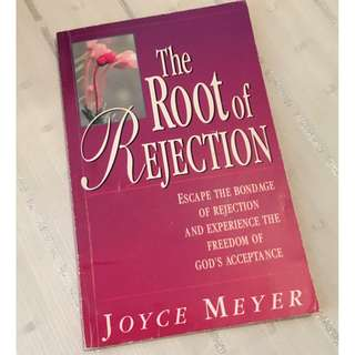The Root of Rejection by Joyce Meyer Christian Book
