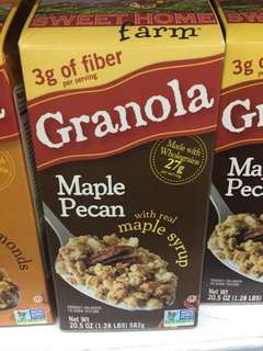 Granola Maple Pecan Sweet Home Farm (582 gram)
