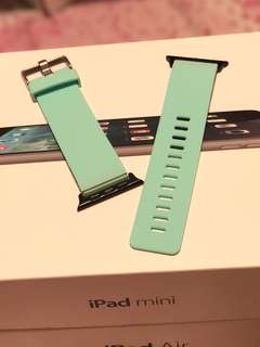 Apple Watch Band 錶帶 42mm - Silicone Marine Green