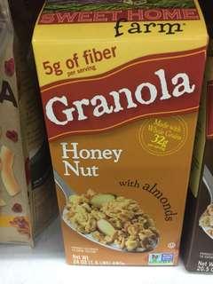 Granola Huney Nut (680 gram)