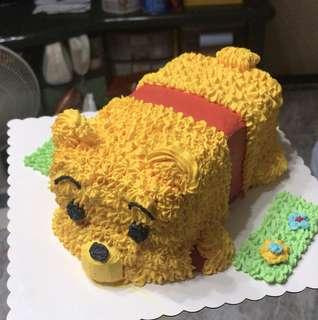 小熊維尼蛋糕磅半