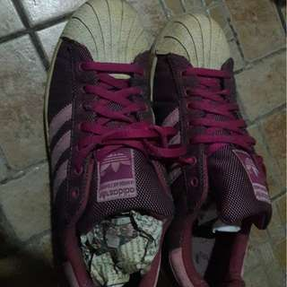 adidas marroon