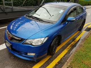 Honda civic fd 2.0 auto Padleshift 2009