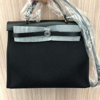 Hermes Herbag 31cm all black