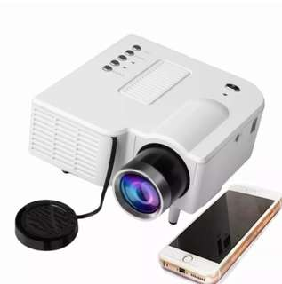 Portable Lcd Projector Mini HD 1080P ppt Home Theater