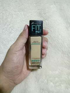 Maybelline Fit Me Foundation (Shade 128)