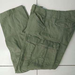 Cargo back number - cargo pants - celana cargo
