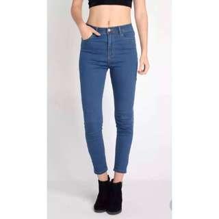 Brand new penshoppe high waist size 26 power stretch jeans