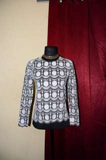 Patterned Office Top