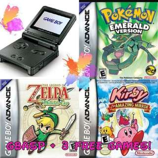 [PO] Gameboy Advance SP Bundle Sale