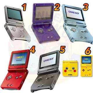 🚚 [PO] Gameboy Advance SP