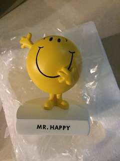 Mr.happy 擺設